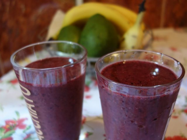 Smoothie cu afine – Energizant natural