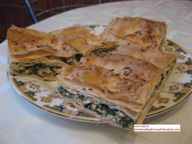 Placinta cu spanac si tofu – Reteta de Post