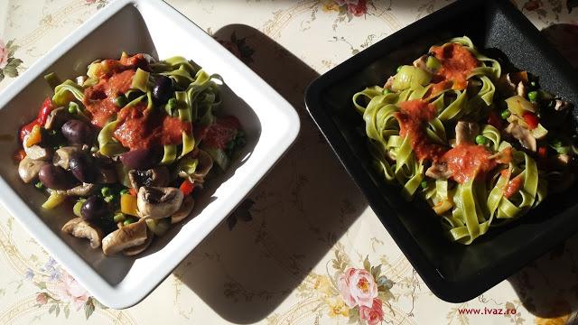 Paste cu legume, boost de energie
