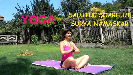 Salutul Soarelui sau Surya Namaskar – VIDEO