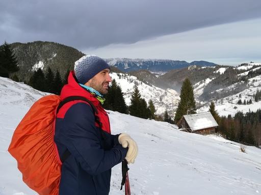 Traseu de iarna din Moieciu de Sus – Bucla 3 EcoMarathon