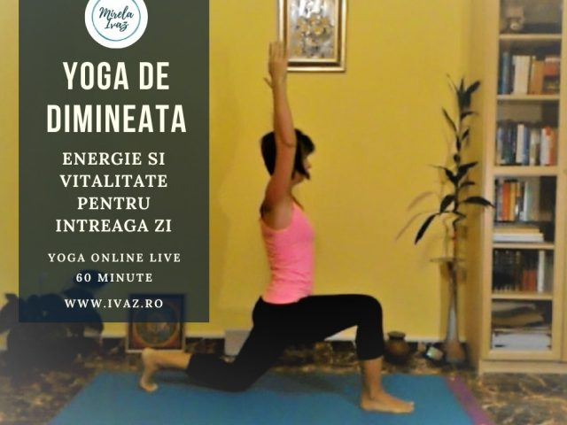 Yoga de dimineata | VIDEO | 60 minute